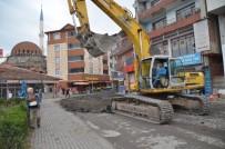 ONARIM ÇALIŞMASI - Alaplı Belediyesi Asfalt Serim Çalışmalarını Sürdürüyor