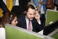 SABANCı HOLDING - Bakan Albayrak çağrı merkezinde operatörlük yaptı
