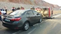 Balıkesir'de Trafik Kazası Açıklaması 6 Yaralı