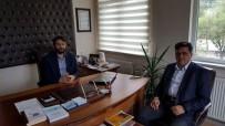 MÜFTÜ VEKİLİ - Başkan Yalçın, İlçe Müftü Vekili Çatallar'ı Ziyaret Etti