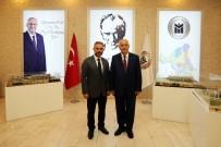 YENİMAHALLE BELEDİYESİ - Başkan Yaşar, Kazan Belediye Başkanı Ertürk'ü Ağırladı
