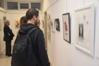 FARUK GÜNAY - Güzel Sanatlar Enstitüsü Öğrencilerinden 'Lisansüstü 2016' Sergisi