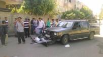 YAKUP ŞAHIN - Kamyonetle Motosiklet Çarpıştı Açıklaması 1 Yaralı