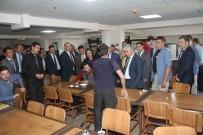 KAFKAS ÜNİVERSİTESİ - Kars Valisi Rahmi Doğan, KYK Yurtlarını İnceledi