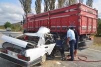 Kastamonu'da Trafik Kazası Açıklaması 1 Ölü, 1 Yaralı