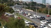 TRAFİK YOĞUNLUĞU - Köprüdeki İntihar Girişimi Trafiği Felç Etti