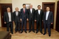 MUSTAFA ÜNAL - MHP'den Başkan Kurt'a Ziyaret