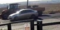 ÇORLU BELEDİYESİ - Traktörün Arkasına Bağlanan Köpeği, Sürücülerin Dikkati Kurtardı