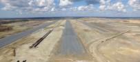 GÖVDELI - Üçüncü Havalimanının İlk Pisti Tamamlanmak Üzere