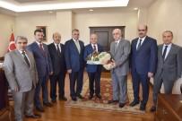 HALIL UZUN - Vali Özdemir Çakacak, İl Müftüsü Melek'i Kabul Etti