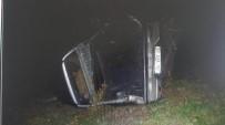 YıLMAZ ÖZTÜRK - Artvin'de Trafik Kazası Açıklaması 1 Ölü, 1 Yaralı
