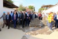 ALT YAPI ÇALIŞMASI - Başkan Ergün'e Coşkulu Karşılama