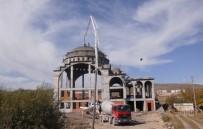 YENI CAMI - Çıldır Yeni Cami İnşaatı Yükseliyor