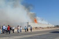 Çırçır Fabrikasındaki Yangın 5 Saatte Söndürüldü