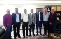 ESNAF VE SANATKARLAR ODALARı BIRLIĞI - Gürkan'dan Samsun Şoförler Odası'na Ziyaret