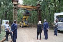 İĞNEADA - İğneada Longoz Ormanları Milli Parkı'na Giriş Takları Yapıldı