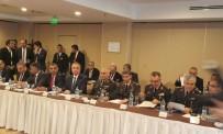 İL EMNİYET MÜDÜRLERİ - Kaçakçılık İstihbarat Koordinasyon Kurulu İzmir'de Toplandı