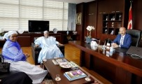 NIJER - Nijer Büyükelçisi'nden Başkan Altunay'a Ziyaret