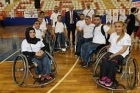 TEKERLEKLİ SANDALYE BASKETBOL - Pamukkale Kupası'nda Heyecan Başladı