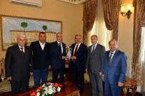 TÜRKIYE SAĞLıK İŞÇILERI SENDIKASı - TÜRK- İŞ Genel Başkanı Atalay, Vali Karaloğlu'nu Ziyaret Etti