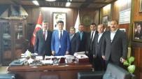 MÜFTÜ VEKİLİ - Türksoy, Başkan Şahin'i Ziyaret Etti