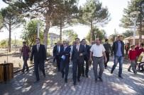 ESNAF ODASı BAŞKANı - Vali Çınar Ahlat'taki Yatırımları İnceledi