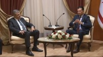 HÜSEYIN ÖZGÜRGÜN - Veysi Kaynak KKTC Başbakanı Özgürgün'le Görüştü