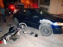 UMUTLU - Bilecik'te Motosiklet Kazası; 1 Yaralı