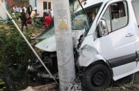 MİNİBÜS ŞOFÖRÜ - Düğün Yolunda Kaza Açıklaması 15 Yaralı