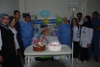 BEYİN KANAMASI - Elif Naz Bebek İlk Doğum Gününü Hastanede Kutladı