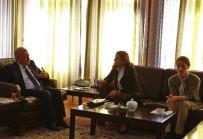 AYDIN YILMAZ - KADEM Genel Başkanı Doç. Dr. E. Sare Aydın Yılmaz, Rektör Çomaklı'yı Ziyaret Etti