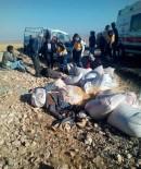 Karaman'da Kamyonet Kazası Açıklaması 1 Ölü, 3 Yaralı