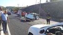 ÖLÜMLÜ - Köyceğiz'de Trafik Kazası; 1 Ölü, 3 Yaralı