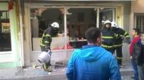 PATLAMA ANI - Kütahya'da İş Yerinde Patlama Açıklaması 1 Yaralı
