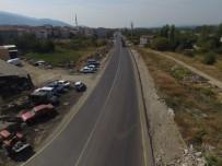 Soma Caddeleri Sıcak Asfaltla Buluştu