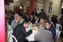 PIR SULTAN ABDAL - Varto Kaymakamı Mehmet Nuri Çetin, Cemevinde İftar Yemeği Verdi