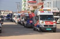 Avrasya Vakfı, Suriye'ye 24 Ambulans Gönderdi