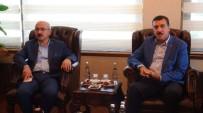 LÜTFI ELVAN - Bakan Elvan Ve Tüfenkci'den Terör Tepkisi