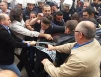 POLİS MÜDAHALE - HDP'lilerden 10 Ekim provokasyonu