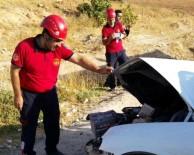 BALıKLıGÖL - Şanlıurfa'da Trafik Kazası Açıklaması 1 Yaralı