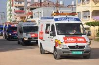 Suriye'ye 24 Ambulans