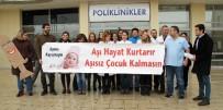 ÇİÇEK HASTALIĞI - Ardahan'da Doktorlardan 'Aşı Hayat Kurtarır' Eylemi