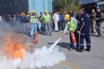 YANGIN TÜPÜ - Bandırma'da Yangın Tatbikatı
