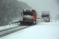 ABANT - Bolu'da Yoğun Kar Yağışı