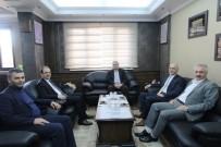 SELÇUK COŞKUN - Emniyet Müdürü Kaya'dan Başkan Memiş'e Veda Ziyareti