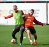FLORYA - Galatasaray, Medipol Başakşehir Maçı Hazırlıklarını Sürdürdü