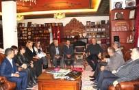 YUSUF KOÇAK - Hacıbektaş AK Parti Heyetinden Ünver'e Teşekkür Ziyareti