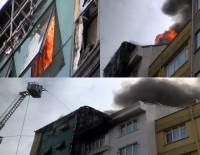 MECIDIYEKÖY - İstanbul'da Bir Korkutan Yangın Daha !