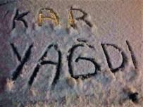 KARAHıDıR - Kırşehir'de Kar Yağışı