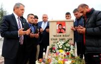 AVRUPA ŞAMPİYONU - Sinan Şamil Sam Kabri Başında Anıldı